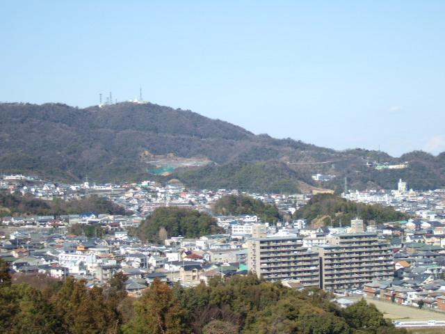 文化の森総合公園より眉山方面.JPG