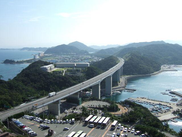 鳴門山展望台 徳島方面.JPG