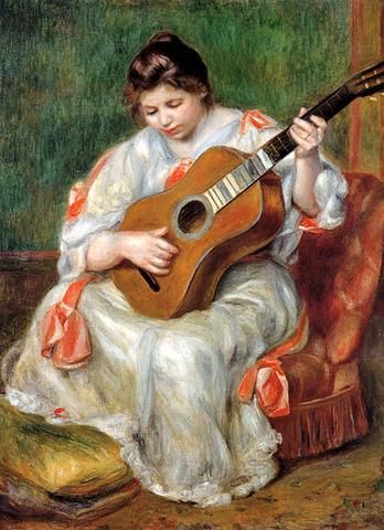 ギターを弾く女 ルノアール.jpg