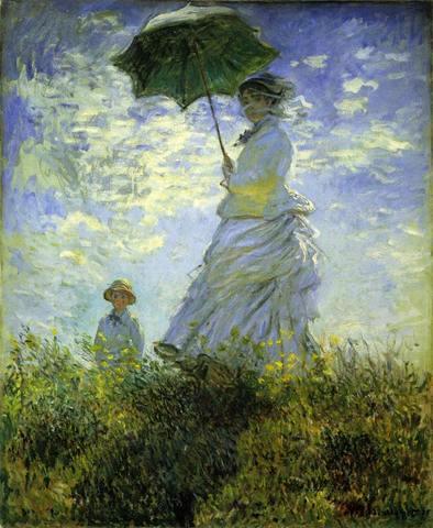 散歩、日傘の女.jpg