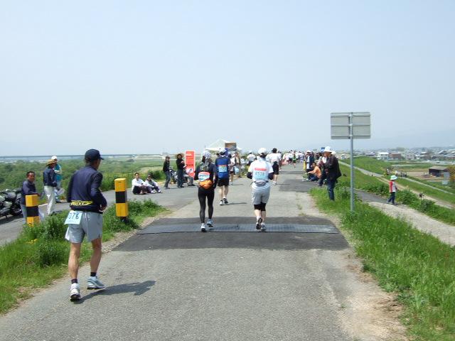 徳島マラソン 20km給水 .JPG