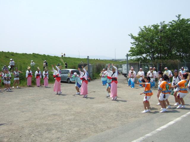 徳島マラソン 阿波踊り .JPG