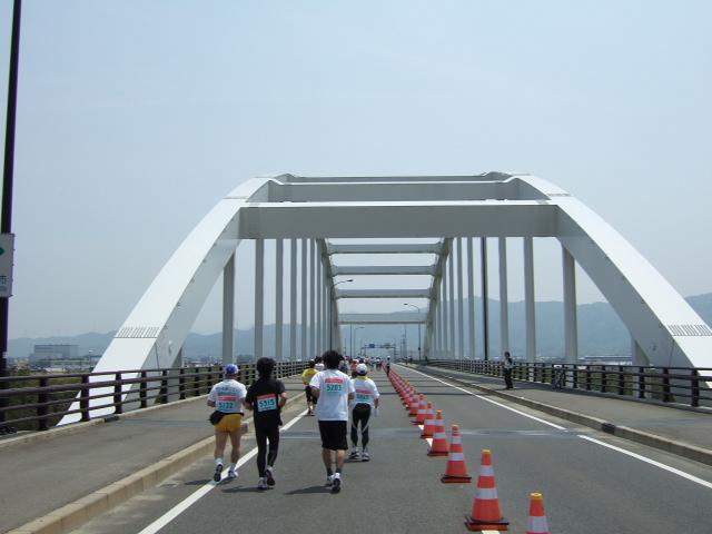徳島マラソン 西条大橋 .JPG