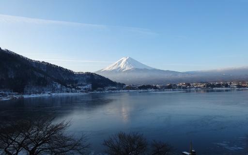 冬景色 富士山 河口湖 山梨.jpg