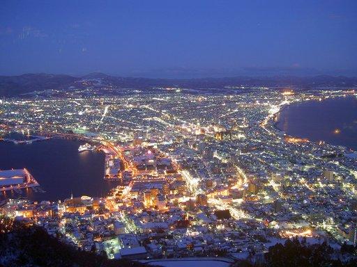 夜景 函館山 函館 北海道.jpg