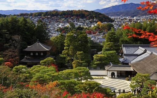 秋の銀閣寺 京都.jpg