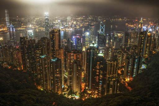 香港夜景 ビクトリアピーク .jpg